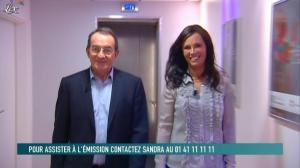 Nathalie Marquay-Pernaut dans le Grand Journal de Canal Plus - 17/02/12 - 01