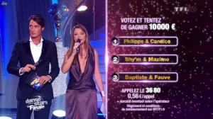 Sandrine Quétier dans Danse Avec les Stars - 19/11/11 - 09
