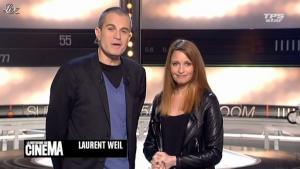Valérie Amarou dans la Quotidienne Du Cinema - 13/02/12 - 01