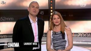 Valérie Amarou dans la Quotidienne Du Cinema - 21/03/12 - 01