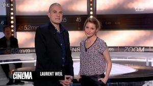 Valérie Amarou dans la Quotidienne Du Cinema - 23/03/12 - 02