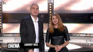 Valérie Amarou dans la Quotidienne Du Cinema - 29/03/12 - 02