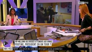 Valérie Amarou sur i-Télé - 04/03/12 - 02