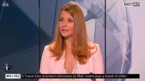 Valérie Amarou sur i-Télé - 08/04/12 - 01