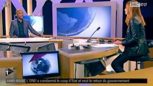 Valérie Amarou sur i-Télé - 14/04/12 - 02