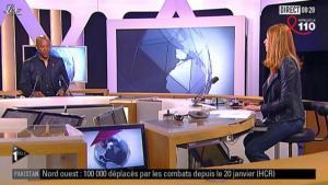 Valérie Amarou sur i-Télé - 31/03/12 - 02