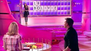 Valérie Bègue dans la Roue de la Fortune - 28/02/12 - 06