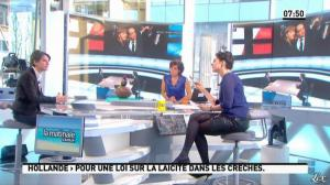 Apolline De Malherbe et Nathalie Iannetta dans la Matinale - 29/03/13 - 21