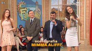 Arianna Rendina et Laura Barriales dans Mezzogiorno in Famiglia - 31/03/13 - 03