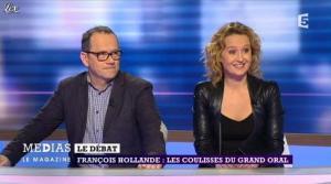 Caroline Roux dans Medias le Mag - 31/03/13 - 01