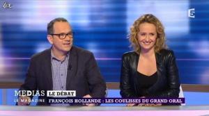 Caroline Roux dans Medias le Mag - 31/03/13 - 05