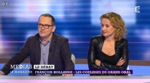 Caroline Roux dans Medias le Mag - 31/03/13 - 08
