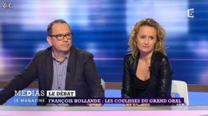 Caroline Roux dans Medias le Mag - 31/03/13 - 09