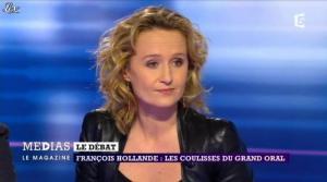 Caroline Roux dans Medias le Mag - 31/03/13 - 10