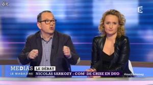 Caroline Roux dans Medias le Mag - 31/03/13 - 11