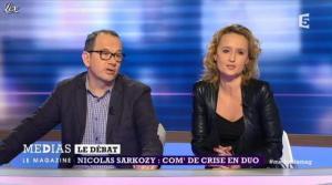 Caroline Roux dans Medias le Mag - 31/03/13 - 12