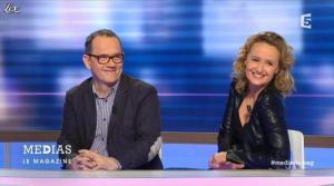 Caroline Roux dans Medias le Mag - 31/03/13 - 15