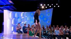 Doria Tillier dans le Grand Journal de Canal Plus - 18/04/13 - 05