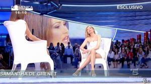 Federica Panicucci et Samatha de Grenet dans Domenica 5 - 17/04/11 - 02