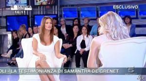 Federica Panicucci et Samatha de Grenet dans Domenica 5 - 17/04/11 - 04