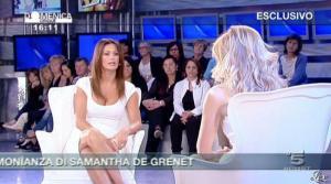 Federica Panicucci et Samatha de Grenet dans Domenica 5 - 17/04/11 - 05