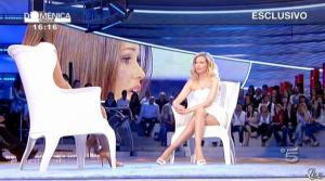 Federica Panicucci et Samatha de Grenet dans Domenica 5 - 17/04/11 - 10