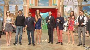 Giovanna Civitillo, Arianna Rendina et Laura Barriales dans Mezzogiorno in Famiglia - 27/01/13 - 01