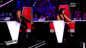 Jenifer Bartoli dans The Voice - 04/05/13 - 12