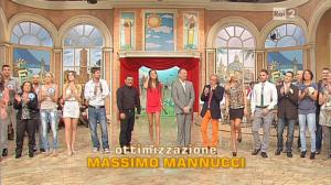 Laura Barriales, Arianna Rendina et Matilde Brandi dans Mezzogiorno in Famiglia - 04/11/12 - 03