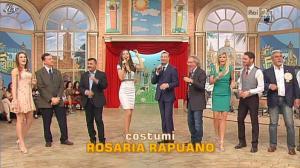 Laura Barriales, Arianna Rendina et Matilde Brandi dans Mezzogiorno in Famiglia - 31/03/13 - 04