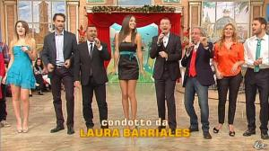 Laura Barriales et Arianna Rendina dans Mezzogiorno in Famiglia - 09/12/12 - 02