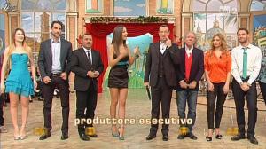 Laura Barriales et Arianna Rendina dans Mezzogiorno in Famiglia - 09/12/12 - 03