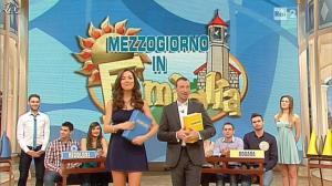 Laura Barriales et Arianna Rendina dans Mezzogiorno in Famiglia - 19/01/13 - 08