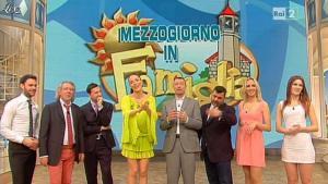 Laura Barriales et Arianna Rendina dans Mezzogiorno in Famiglia - 23/03/13 - 44