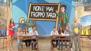 Laura Barriales dans Mezzogiorno in Famiglia - 04/11/12 - 11