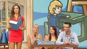 Laura Barriales dans Mezzogiorno in Famiglia - 04/11/12 - 14