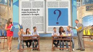 Laura Barriales dans Mezzogiorno in Famiglia - 04/11/12 - 16
