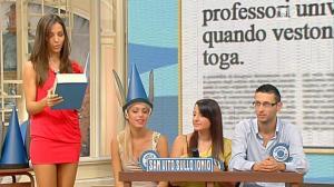 Laura Barriales dans Mezzogiorno in Famiglia - 04/11/12 - 18