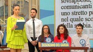 Laura Barriales dans Mezzogiorno in Famiglia - 23/03/13 - 10