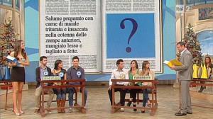 Laura Barriales dans Mezzogiorno in Famiglia - 29/12/12 - 09
