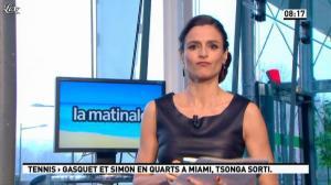 Marie Audran dans la Matinale - 27/03/13 - 11