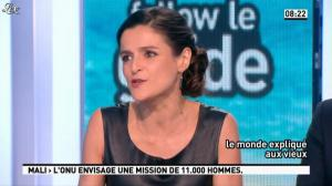 Marie Audran dans la Matinale - 27/03/13 - 19