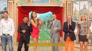 Matilde Brandi et Laura Barriales dans Mezzogiorno in Famiglia - 04/11/12 - 02