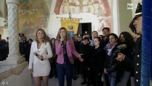 Silvia Squizzato et Laura Squizzato dans Mezzogiorno in Famiglia - 23/03/13 - 05