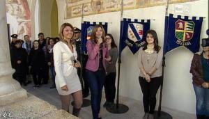Silvia Squizzato et Laura Squizzato dans Mezzogiorno in Famiglia - 23/03/13 - 06