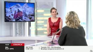 Elodie Poyade dans Menu Sport - 05/05/14 - 06