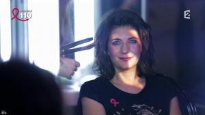 Estelle Denis dans la télé Chante Pour le Sidaction - 05/04/14 - 01
