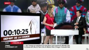 France Pierron dans Menu Sport - 14/04/14 - 10