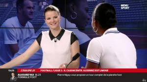 France Pierron dans Menu Sport - 17/03/14 - 09