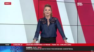 France Pierron dans Menu Sport - 21/03/14 - 10